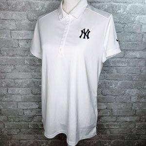 Nike Golf Dri-fit Women's Yankees Polo - XL
